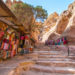 Petra – schody do Klasztoru