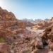 Petra i jej kolorowe ścieżki