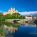 Melk on the Danube and the baroque Benedictine abbey