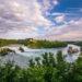 Wodospad na Renie – Rheinfall – największy wodospad Europy
